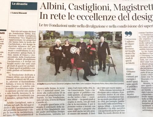 Il 16 gennaio su Corriere della Sera