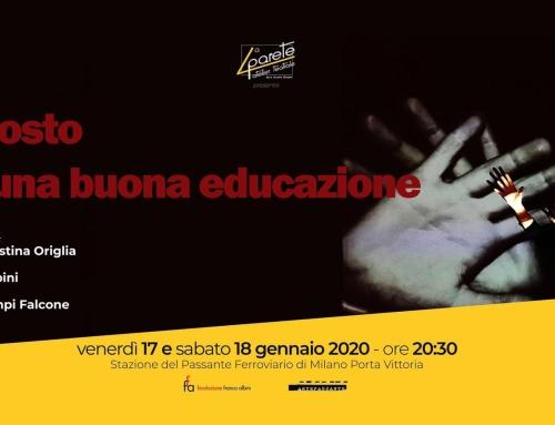Invito a teatro – Il costo di una buona educazione