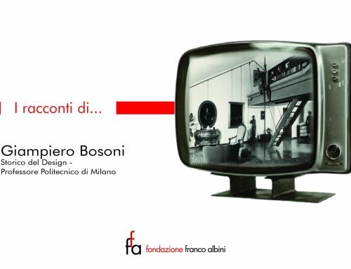 """""""I racconti di…"""" il terzo video con la testimonianza di Giampiero Bosoni per raccontare il mondo di Fondazione e Academy"""